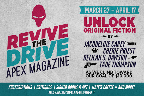 Apex Magazine Revive the Drive Campaign
